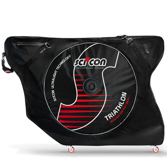 SciCon AeroComfort Triathlon Bike Bag With External Shields