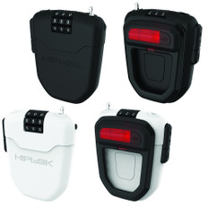 Hiplok FLX Wearable Retractable Combination Lock with Rear Light