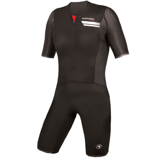 Endura QDC Drag2Zero Short Sleeve Mens Lite Trisuit