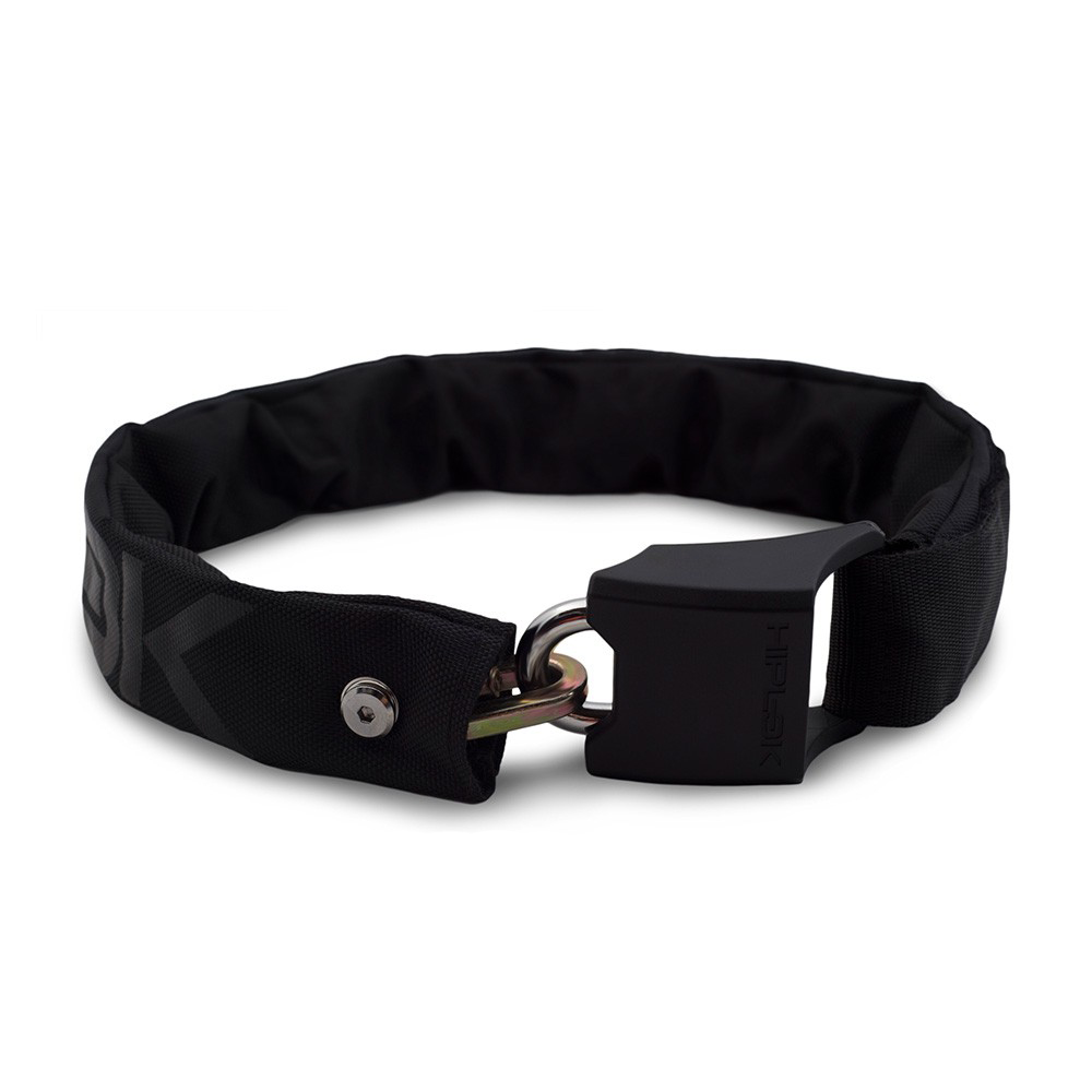 Hiplok V1.5 Wearable Chain Lock Sold Secure Silver