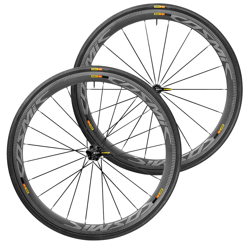 Mavic Cosmic Pro Carbon SL Clincher International 6 Bolt Disc Wheelset