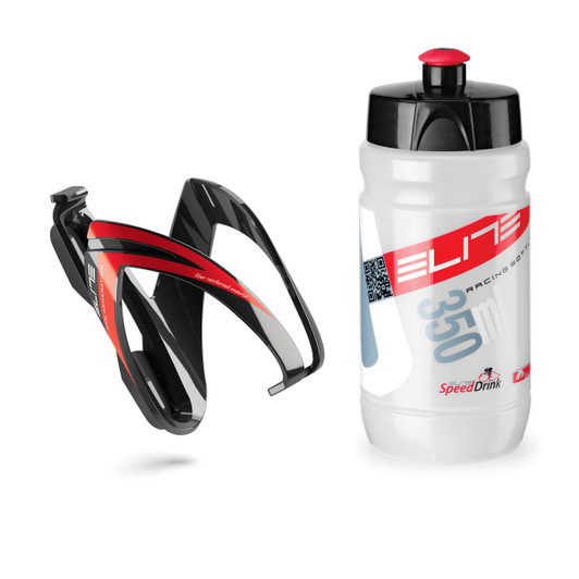 Elite Ceo Youth Bottle Kit (Inc Bottle Cage And 350 Ml Bottle)