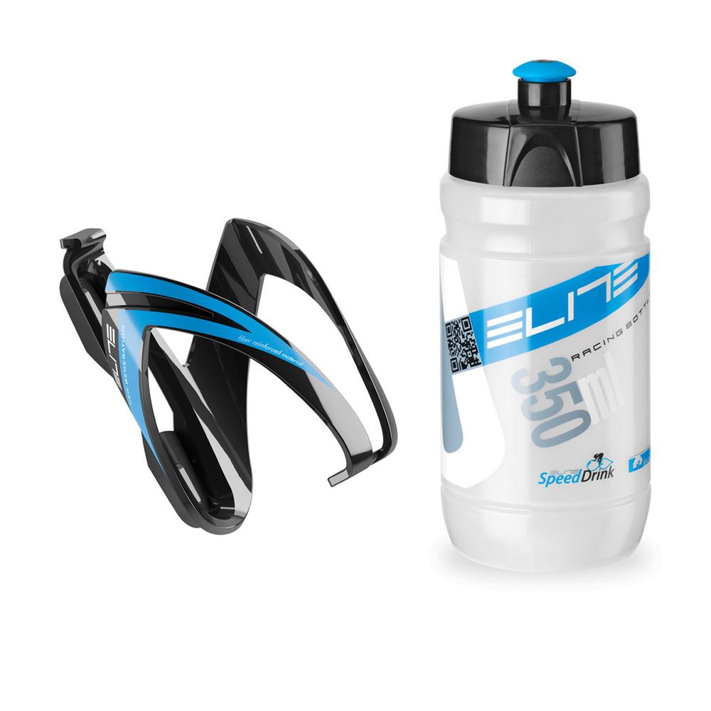 Elite Ceo Youth Bottle Kit (Inc Bottle Cage And 350 Ml Bottle)