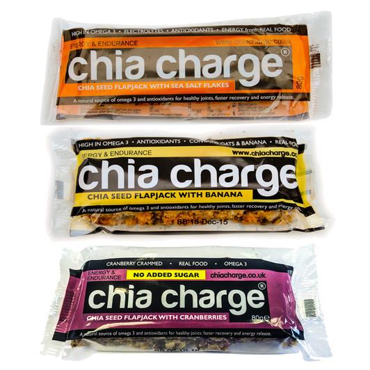 Chia Charge Flapjack Bar 80g