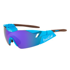 Bolle 6th Sense Team Sunglasses with Blue Violet Oleo Lens