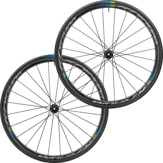 Mavic Haute Route Ksyrium Pro Carbon SL Clincher CL Disc Wheelset