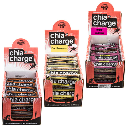 Chia Charge Flapjack Bar Box Of 20 X 80g