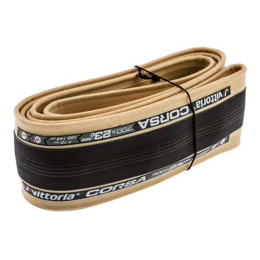 Vittoria Corsa G+ Isotech Foldable Clincher Tyre