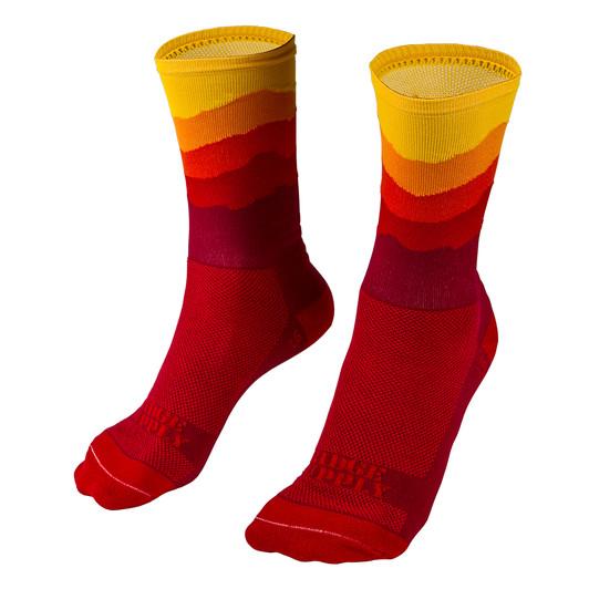 Ridge Supply Skyline Sunset Edition Socks