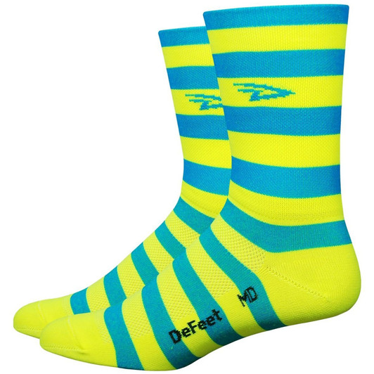 DeFeet Aireator 5 Stripers Socks