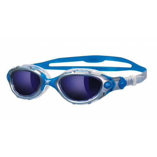 Zoggs Predator Flex Blue Mirrored Goggle