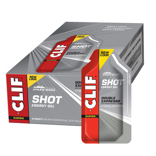 Clif Bar Shot Gels 24 X 36g Box