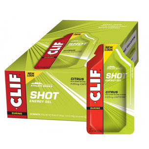 Clif Bar Shot Gels Box Of 24 X 36g