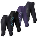 2XU Mid Rise Womens Compression 3/4 Tight