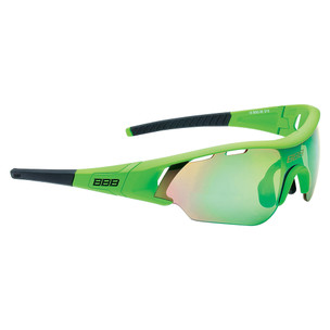 BBB Summit Sunglasses Smoke Green Lens