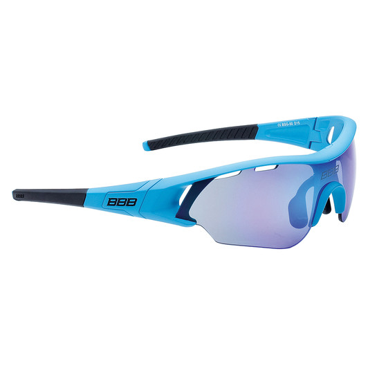 BBB Summit Sunglasses Smoke Blue Lens