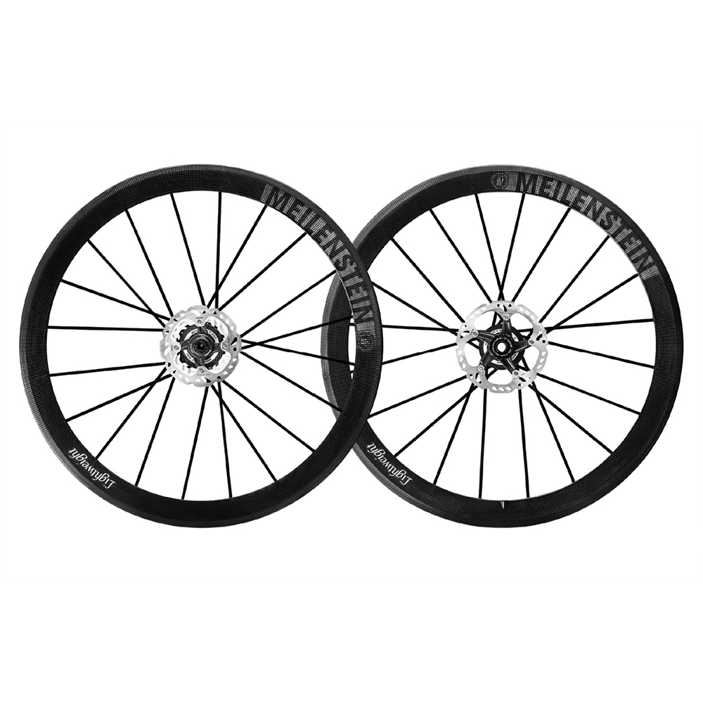 Lightweight Meilenstein Clincher Centrelock Disc Brake Wheelset