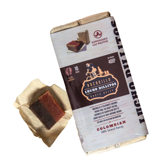Lucho Dillitos Colombian Bocadillo Coffee And Guava Energy Bar Box 10 X 40g