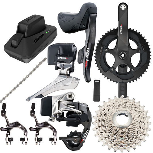 SRAM RED ETap Wireless Road Groupset With GXP Chainset