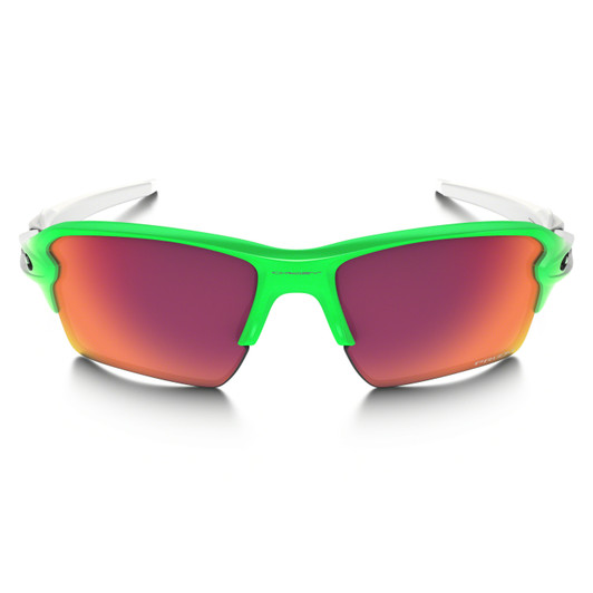 Oakley Flak 2.0 XL Green Fade Sunglasses Prizm Field Lenses