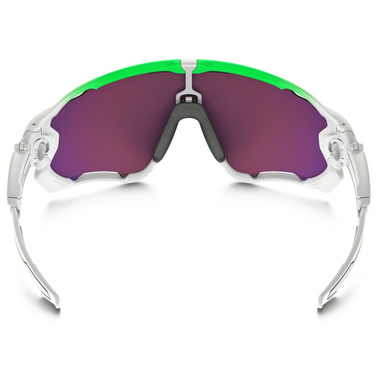 Oakley Jawbreaker Green Fade Edition Sunglasses PRIZM Road Lens