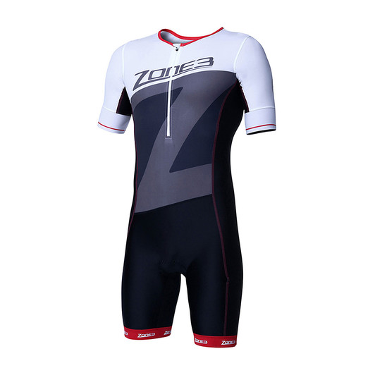 Zone3 Lava Short Sleeve Aero Trisuit