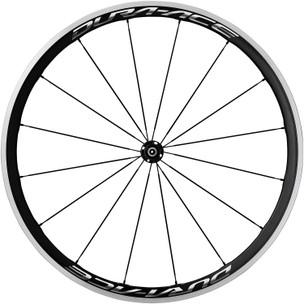 Shimano Dura-Ace 9100 C40 Carbon Clincher Front Wheel