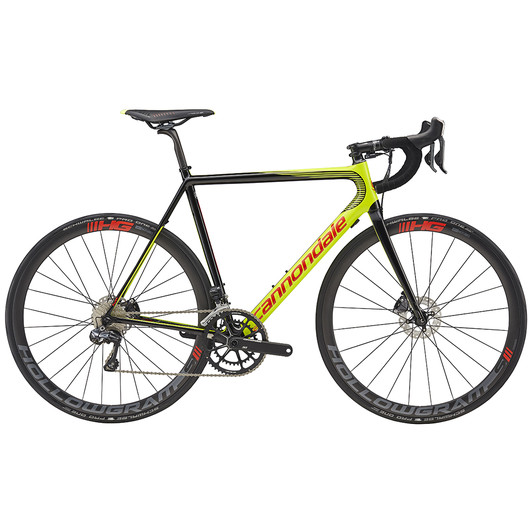 Cannondale SuperSix Evo Hi-Mod Disc Ultegra Di2 Road Bike 2017