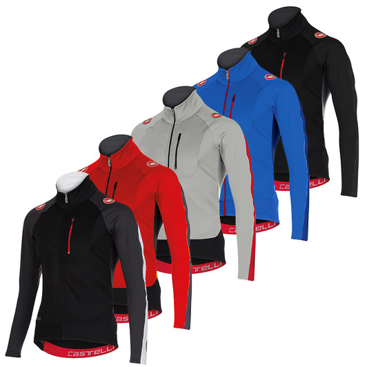 Castelli Trasparente 3 Long Sleeve Windstopper Jersey