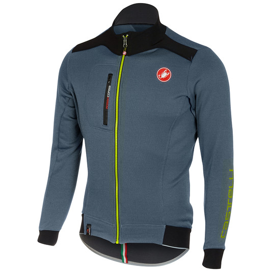 Castelli Potenza Full Zipped Long Sleeve Jersey