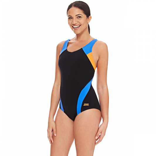 Zoggs Miami Crossback Swimsuit
