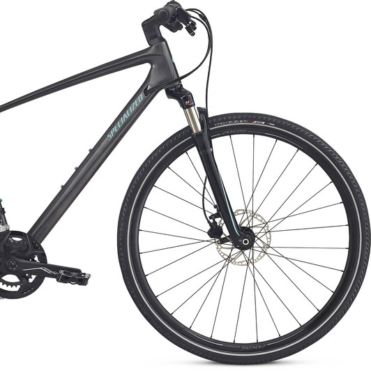 Specialized Ariel Elite Carbon Disc Womens Hybrid Bike