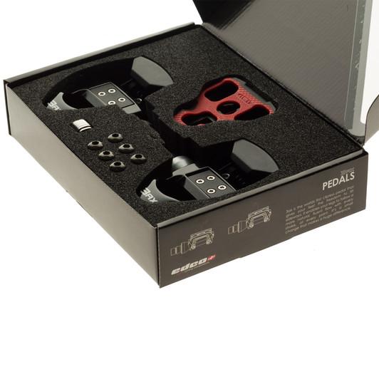Edco 3AX Clipless Pedal Set