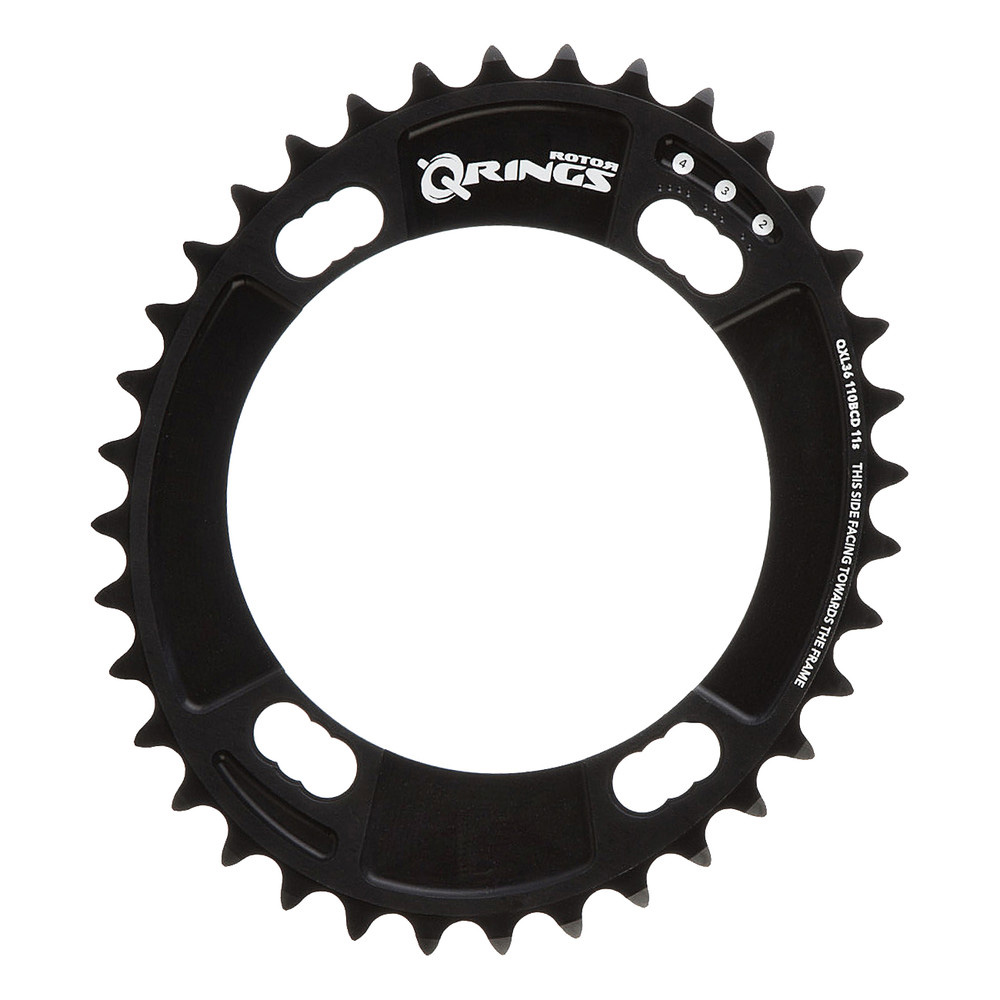 Rotor QXL Inner Chainring 110BCD 4 Bolt 44T Shimano