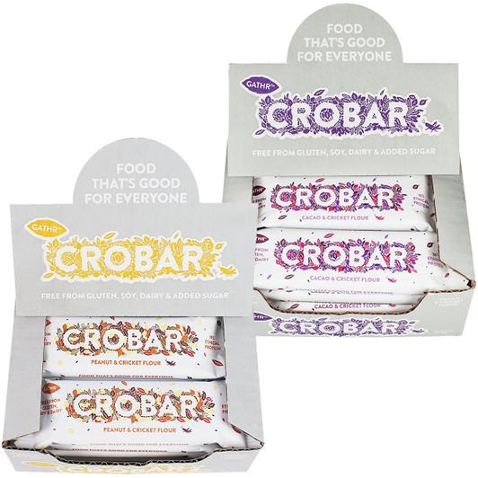 Crobar Protein Bar Box Of 12 X 40g Bars