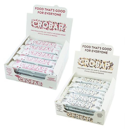 Crobar Energy Bar Box Of 20 X 30g Bars