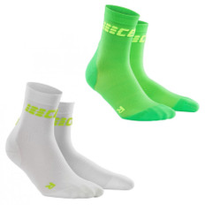 CEP Run Ultralight Compression Womens Short Socks