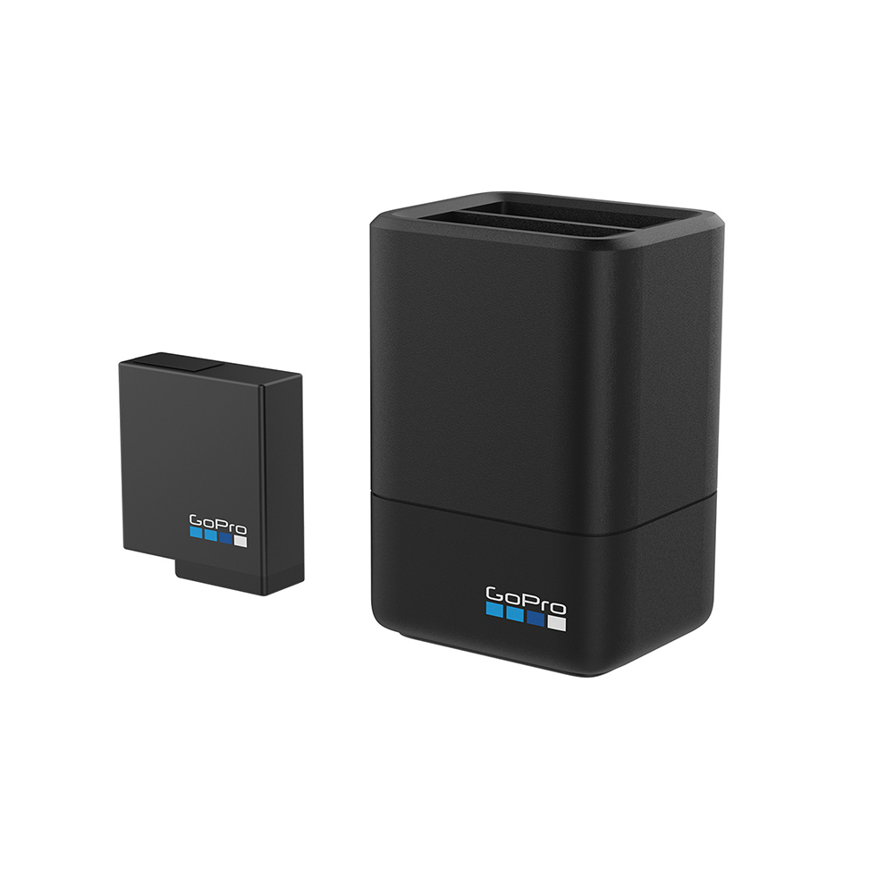 GoPro Dual Battery Charger With Battery For Hero5 Black