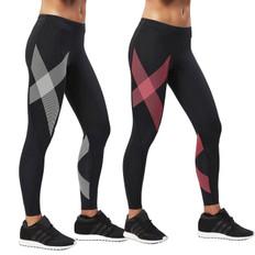 2XU Striped Womens Compression Tight