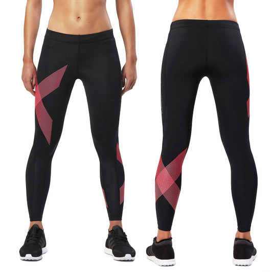 2XU Striped Womens Compression Tight