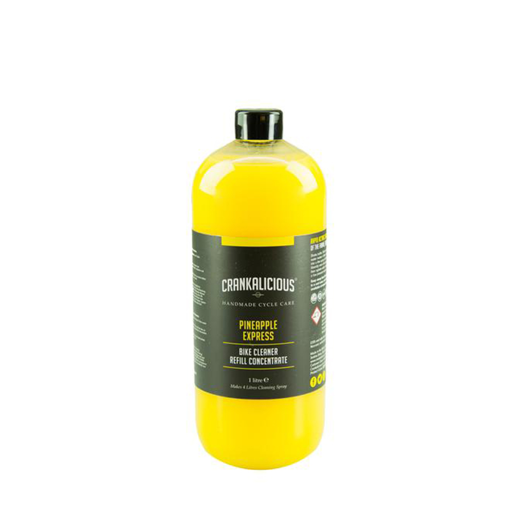 Crankalicious Pineapple Express Cleaner 1 Litre Concentrate Refill