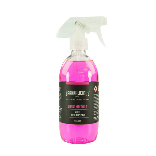 Crankalicious Carboniferous 500ml Matt Finishing Spray