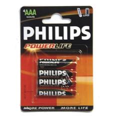 Philips AAA Powerlife Battery (set of 4)