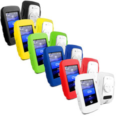 Tuff-Luv Silicone Case Cover for Garmin Edge 520 + Screen Protector