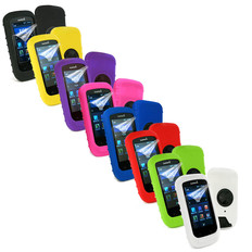 Tuff-Luv Silicone Case Cover For Garmin Edge 1000 + Screen Protector