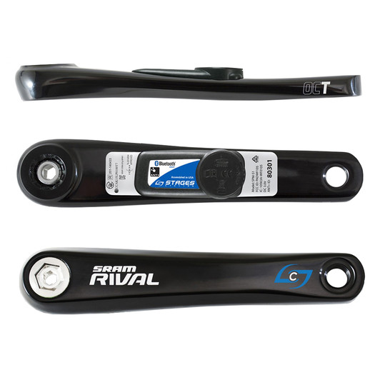 Stages Cycling SRAM Rival Power Meter Crank Arm (2nd Gen)