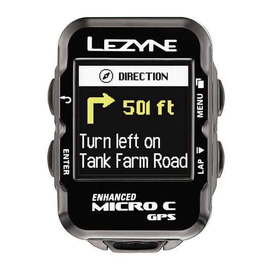 Lezyne Micro Colour Navigate GPS Cycle Computer 2017