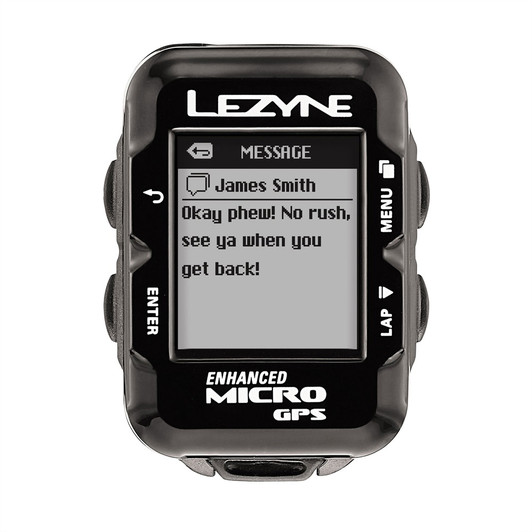 Lezyne Micro Navigate GPS Cycle Computer 2017