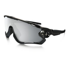 Oakley Jawbreaker Halo Sunglasses with Chrome Iridium Lens