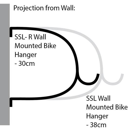 Cactus Tongue SSL Wall Mounted Bike Hanger